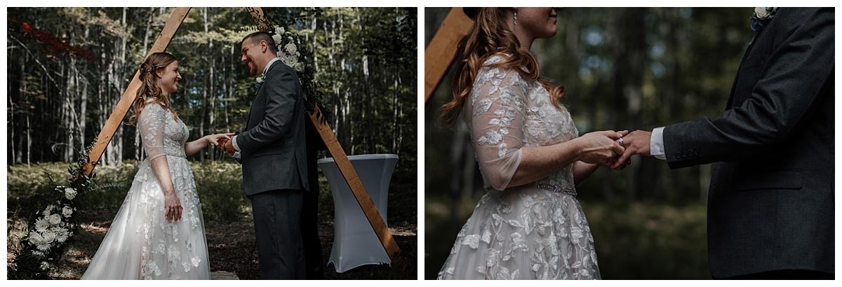 Intimate-Michigan-Wedding-In-The-Woods-St-Helen-MI-Up-North-Shonda-Michelson-Photography,Northern-Michigan-Photographer,